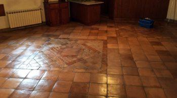 pavimento in cotto pulizia manutenzione Trattamento cotto napoletano Fratelli Bregantin