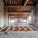 ristrutturazione del solaio in legno
