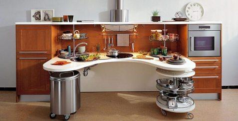 Skyline, cucina Snaidero per disabili