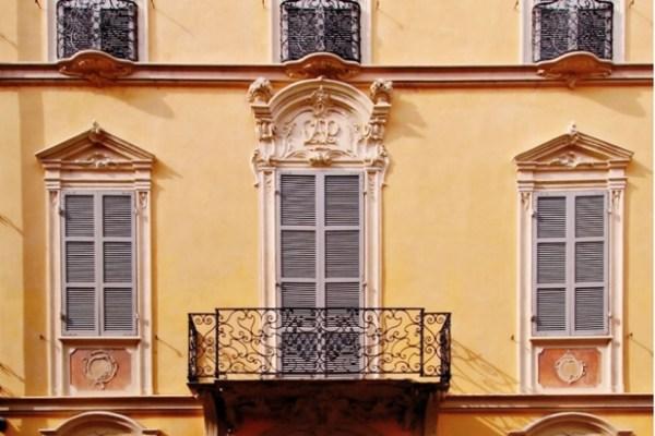 scegliere la pittura per la facciata: foto facciata