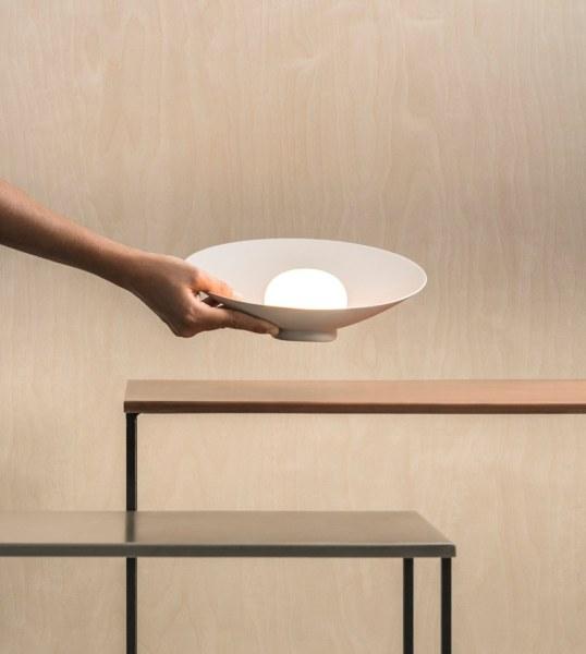 Lampade senza fili batteria ricaricabile FOTO lampada Musa di Vibia