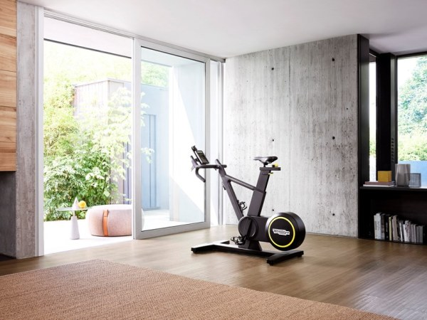 Palestra in casa attrezzi ideali: Cyclette Skillbike di Technogym