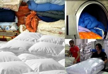 Lavaggio piumoni (foto tratta da La Lavanderia centro lavaggi)