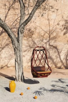 Seduta sospesa a un albero Nautica C360 di Expormim
