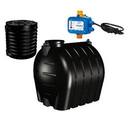 Sistema per recupero e utilizzo dell'acqua piovana Cordivari