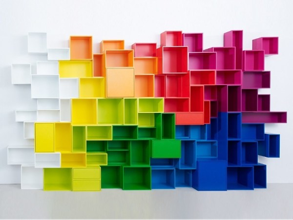 Libreria modulare Cubit