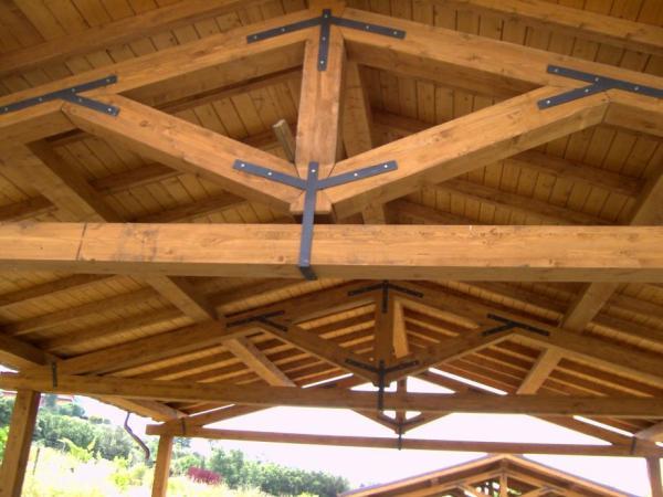 Travi in legno lamellare Tecnowood