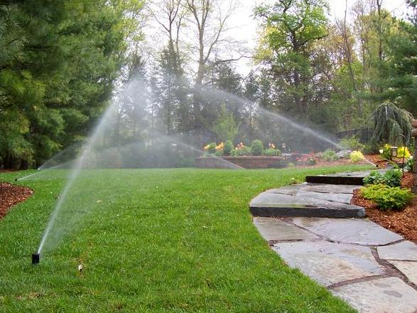 impianto di irrigazione wifi