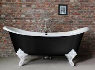 Sanitari in metallo per il bagno: Vasca in ghisa Lucrezia Freestanding di Iperceramica