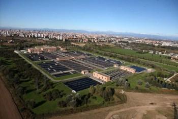 depuratore delle acque reflue di Nasedo Milano