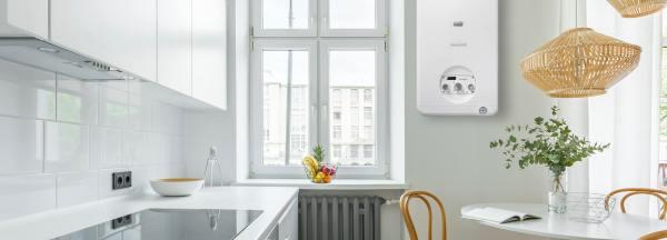 installazione caldaia in cucina