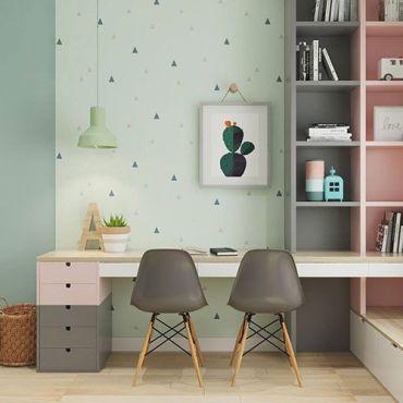angolo studio ufficio in camera