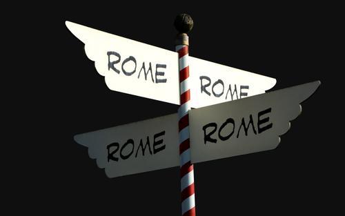 Si todos los caminos llevan a Roma como se sale de Roma  El blog de Diettica Casa Pi