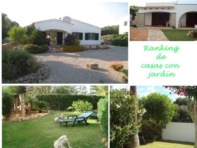 casas y chalets con jardín en venta en menorca
