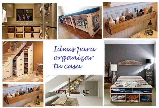 como organizar tu casa y ganar espacio