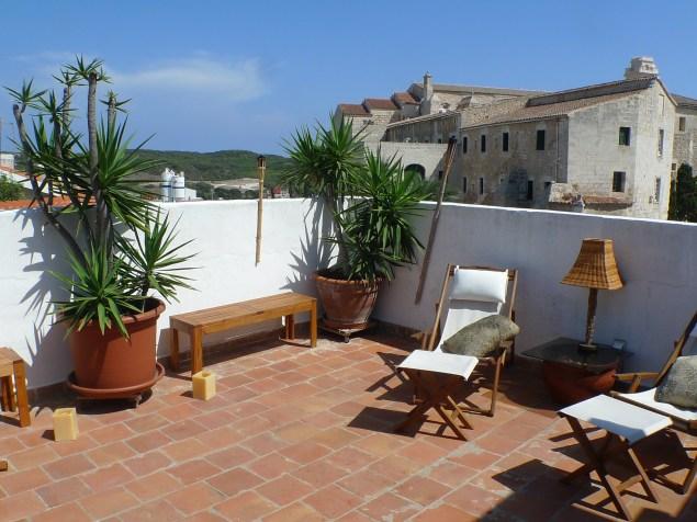 piso con terraza en venta en Mahon
