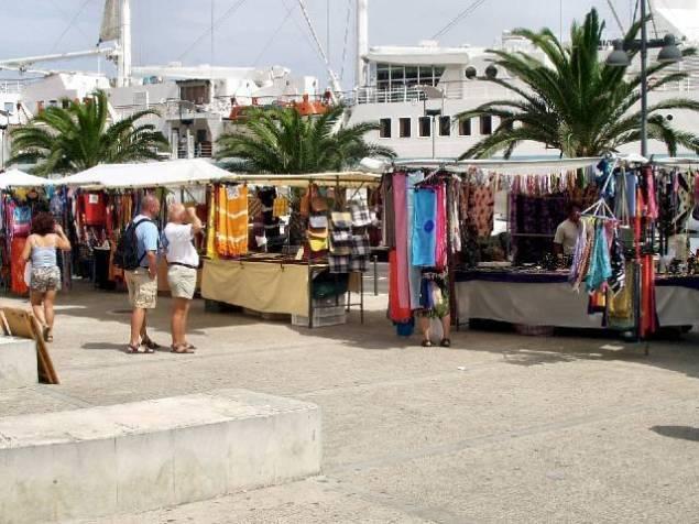 mercadillo puerto mahon