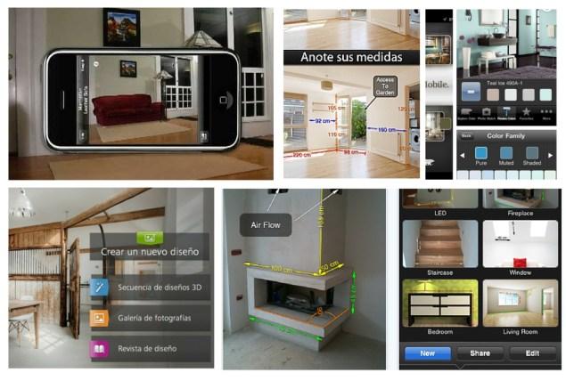 aplicaciones móviles para decorar tu casa