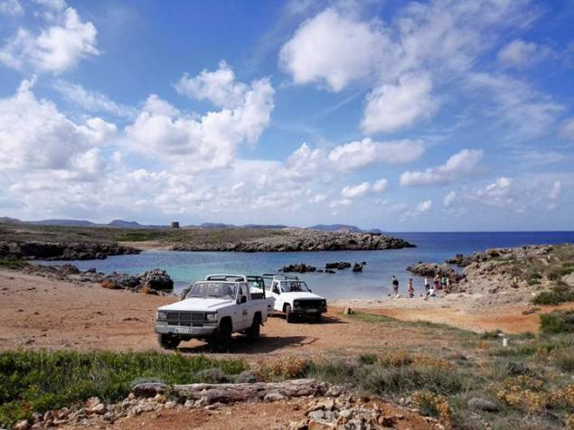 ruta jeep safari menorca