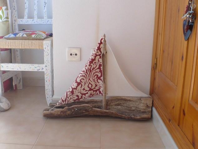 decoracion con madera del mar