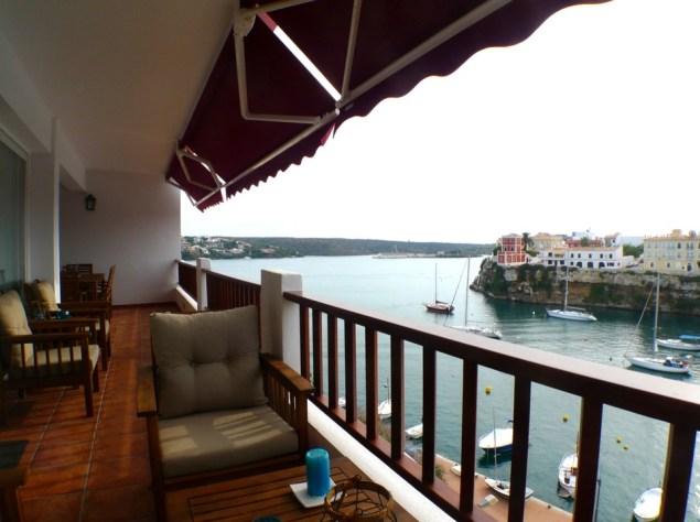 piso con vistas al mar menorca