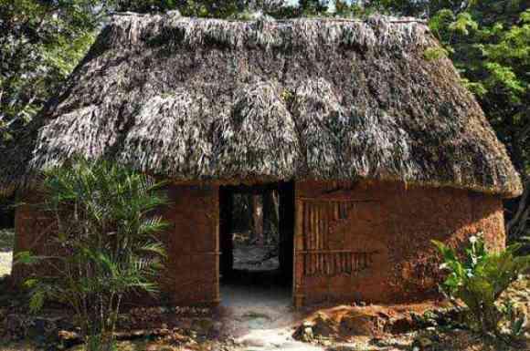 Casas huano, Casas de huano, la vivienda tradicional maya., Casas en Valladolid