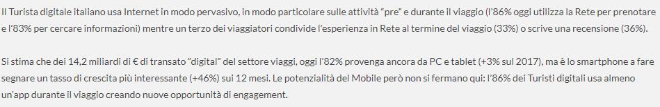 estratto report osservatorio.net