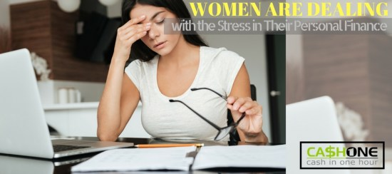 Women dealing with personal finance