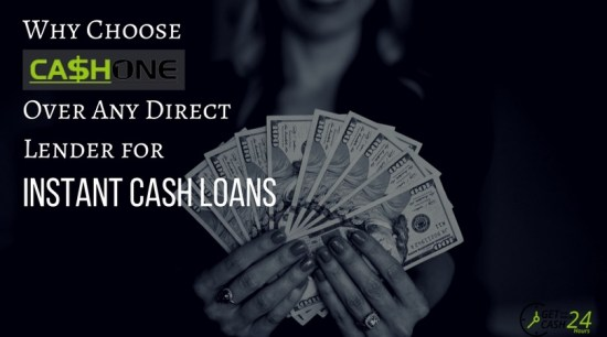 Why Choose CashOne over direct lenders