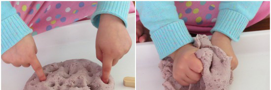Infant playdough