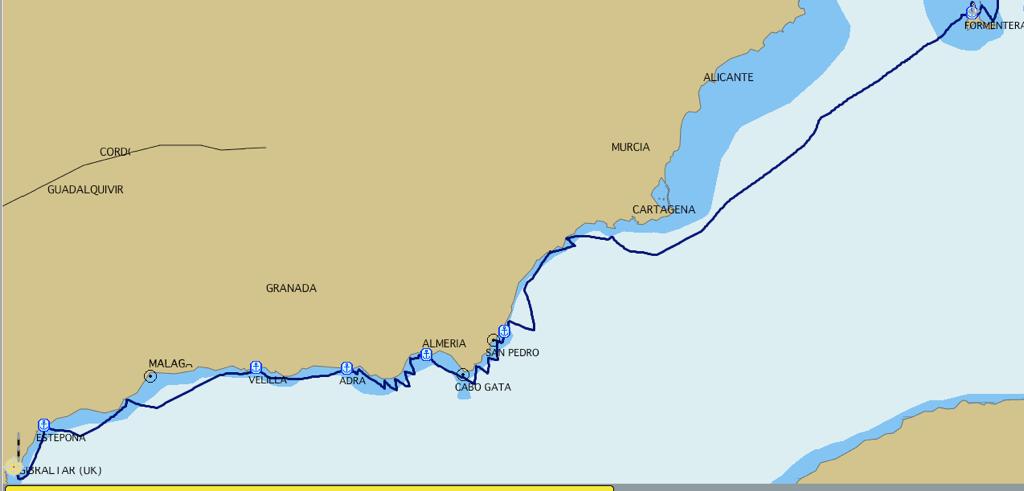 Formentera-Gibraltar