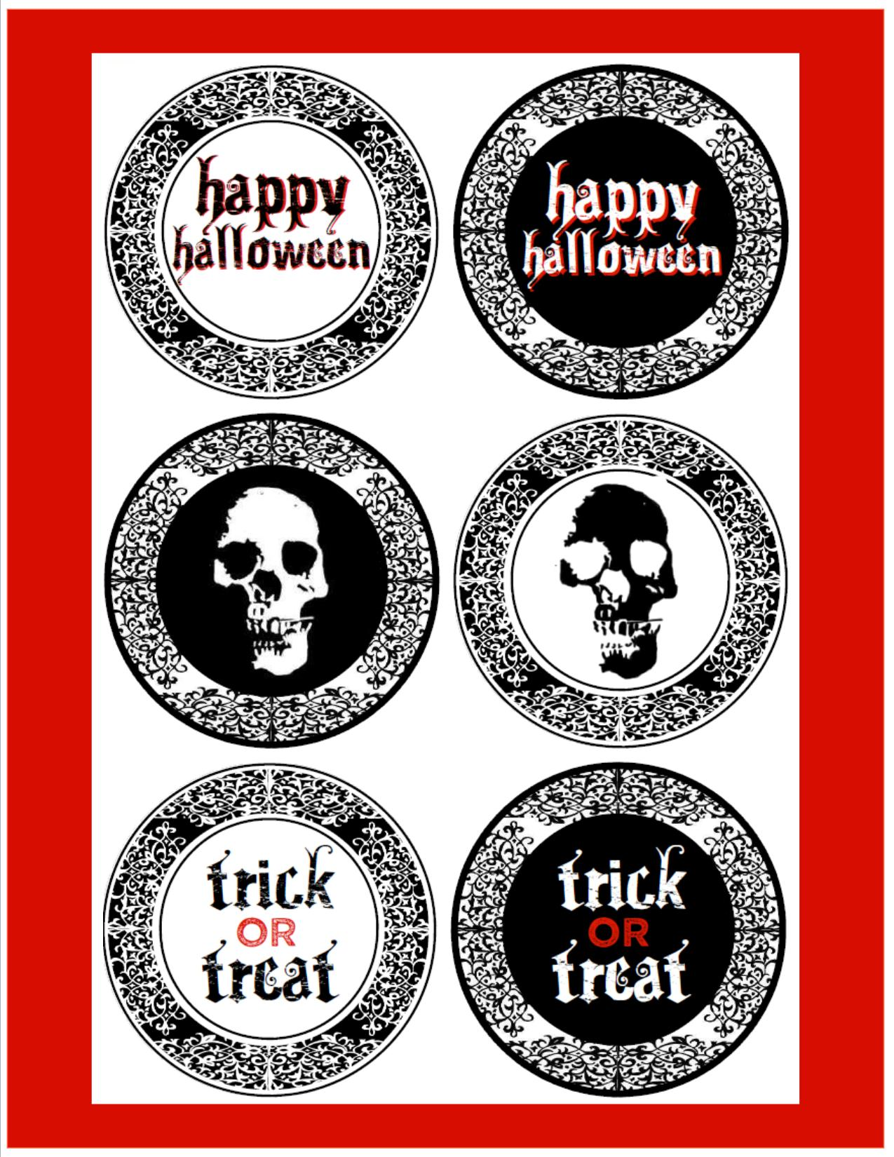 Free Creepy Halloween Printables