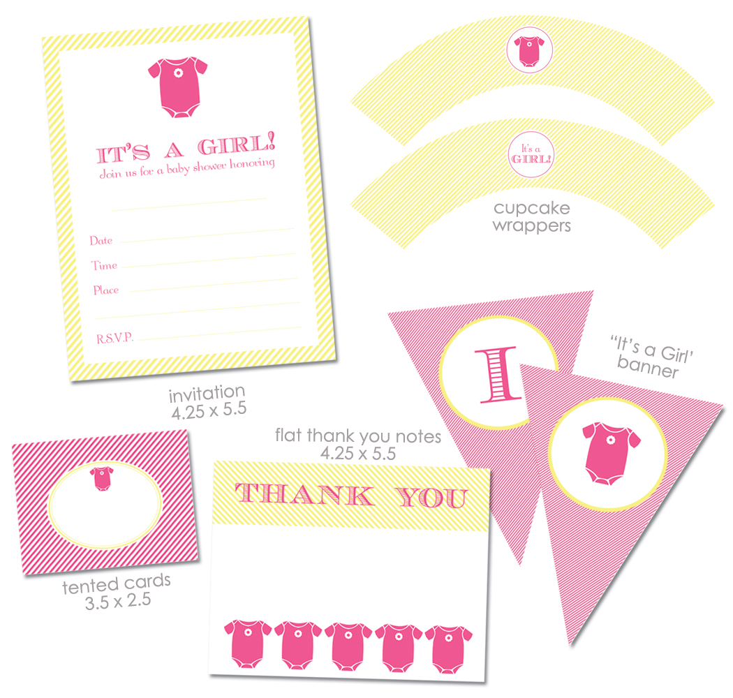 Baby Shower Free Printables Decorations