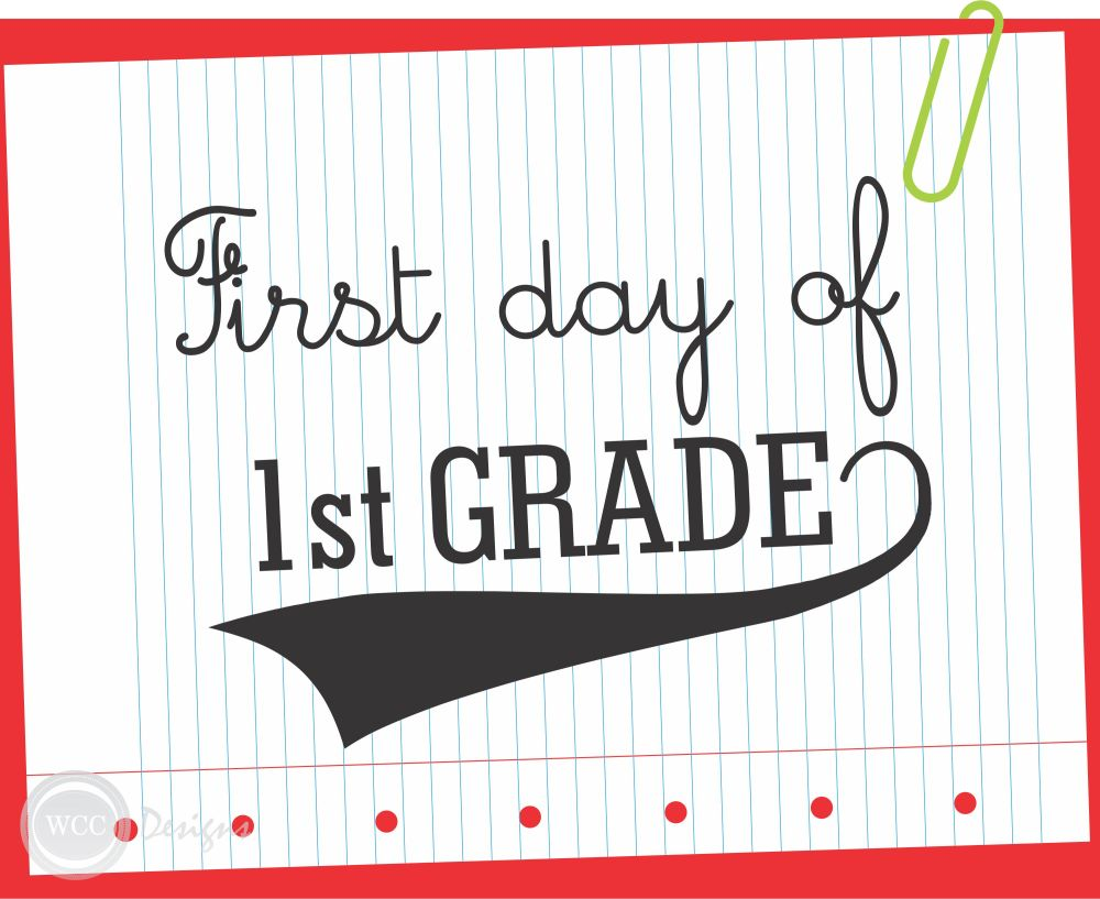 medium resolution of Download these FREE First Day of School Printable Signs Now!   Catch My  Party