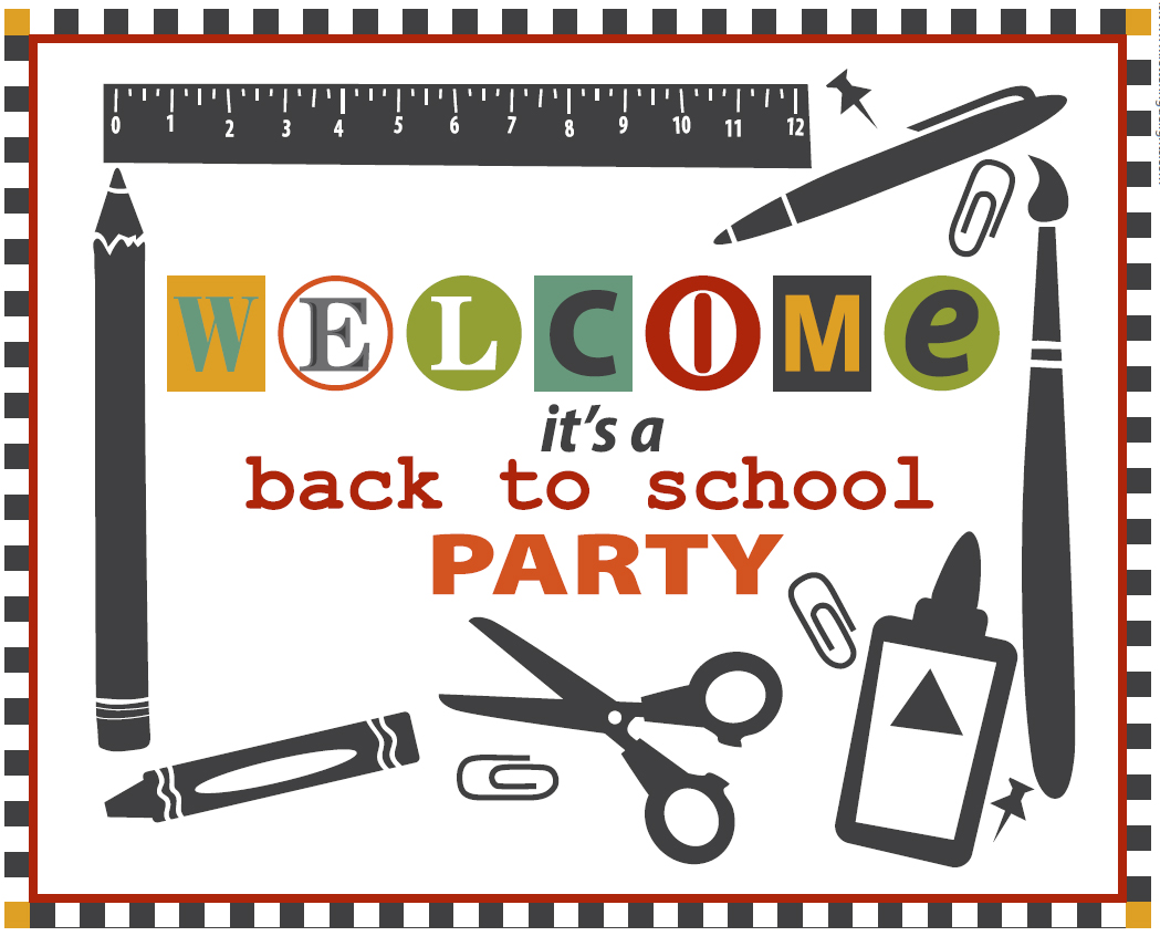 Free Back To School Party Printables From Lettering Delights