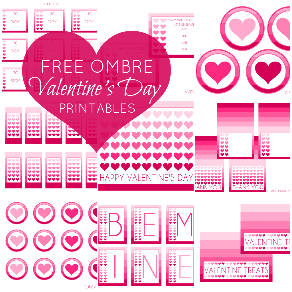 Free Valentine S Day Party Printables From Printabelle