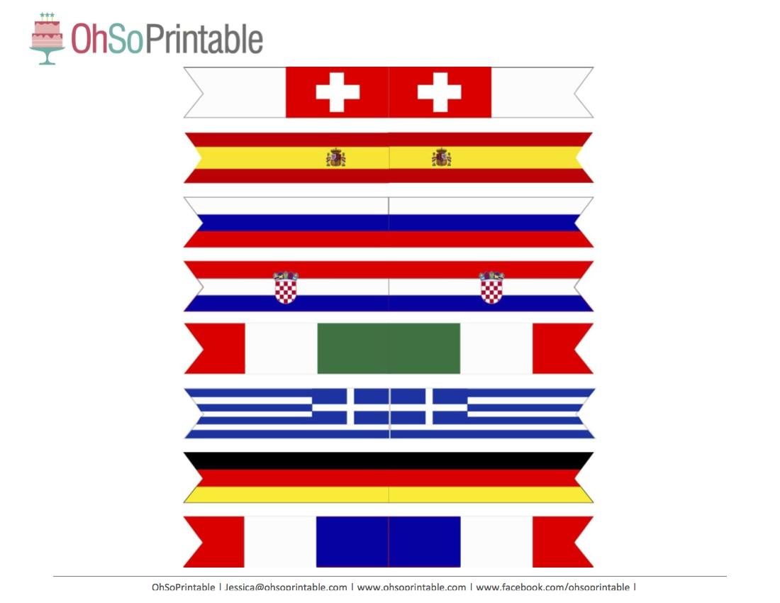 Free World Cup Soccer Printables From Ohsoprintable