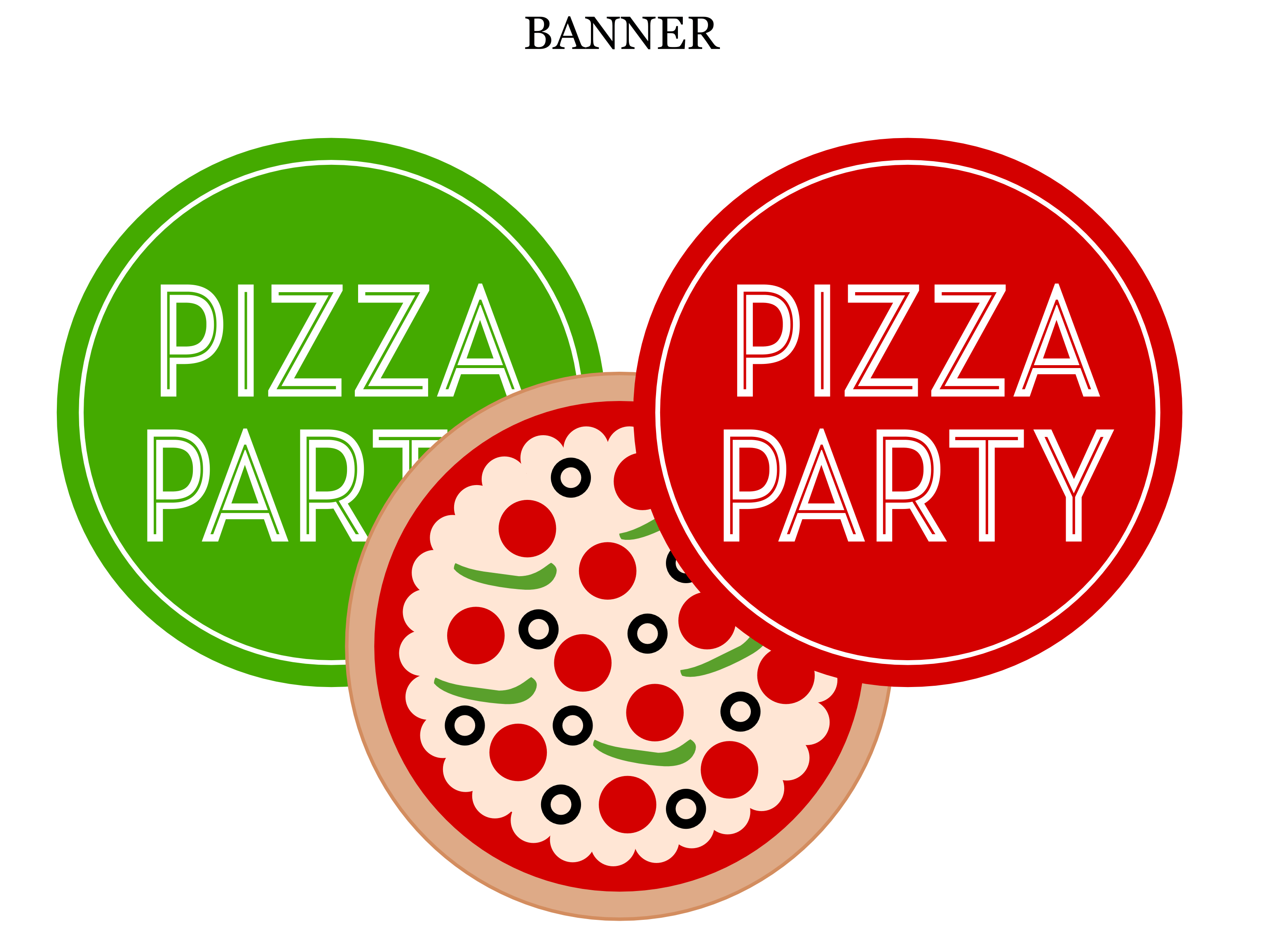 Printable Pizza Pictures
