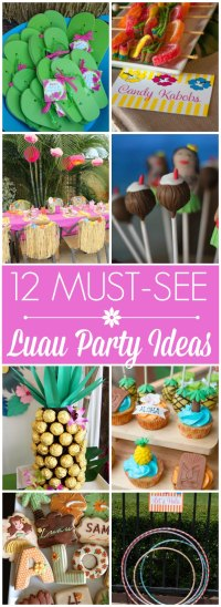 12 Must-See Luau Party Ideas | Catch My Party