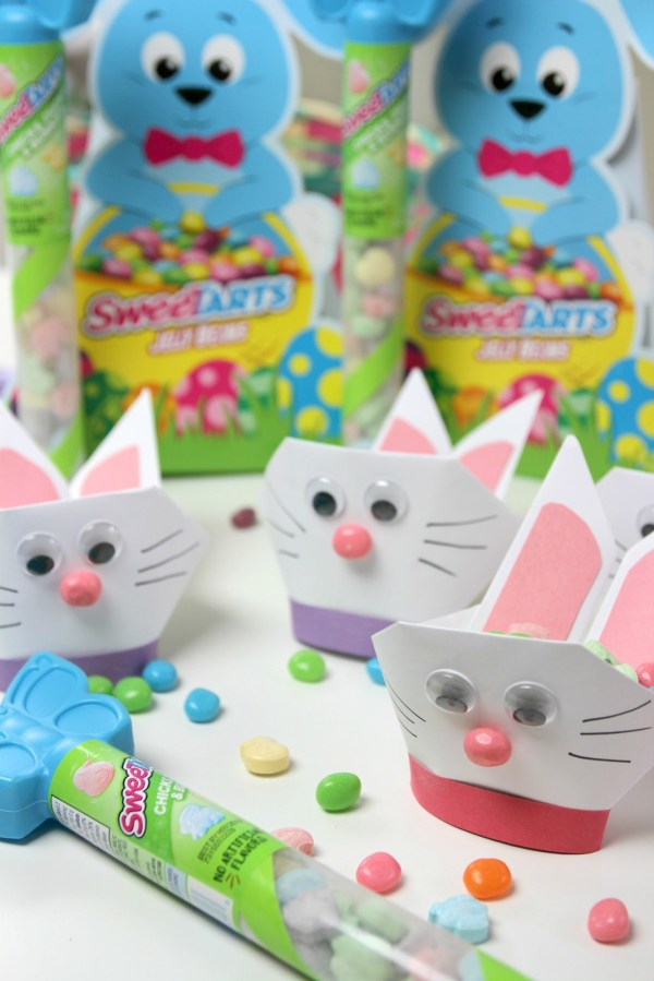 Easter Basket Origami Bunny Craft Catch Party