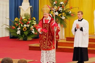 Mgr Tissier de Mallerais le 29 juin 2016 à Écône