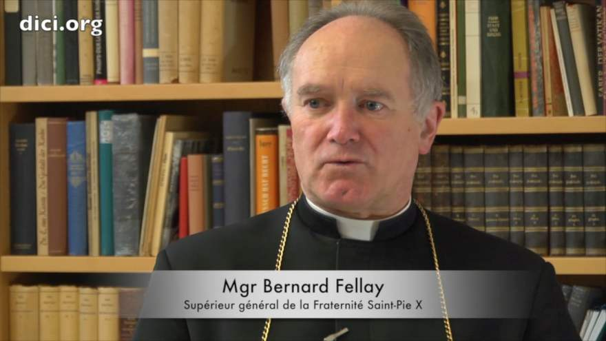 Bernard Fellay, supérieur général de la F$$PX