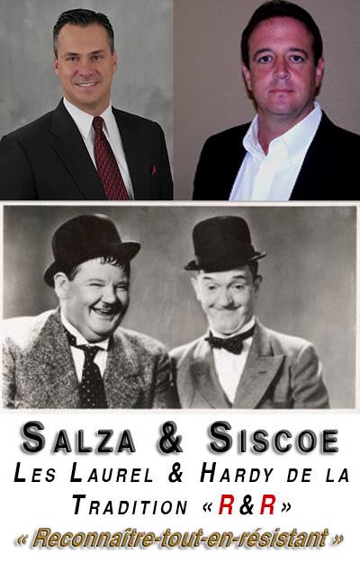 Salza et Siscoe les laurel et hardy tradis