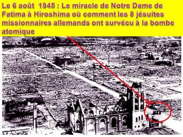 Le Miracle de Notre-Dame de Fatima à Hiroshima