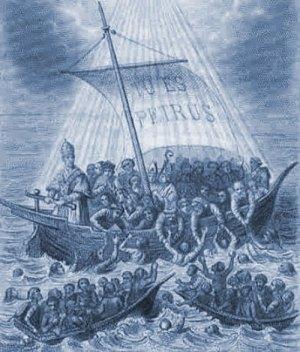 TU ES PETRUS, La Barque de St Pierre (L'Église)