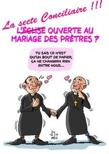 """Mariage des """"prêtres"""" conciliaires"""