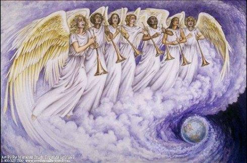 Les 7 trompettes de l'Apocalypse de St Jean
