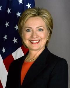 Portrait officiel de la secrétaire d'État des États-Unis, Hillary Clinton.