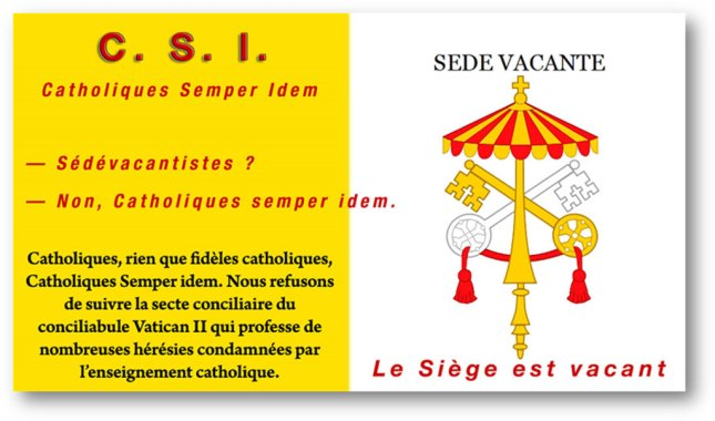 Sede Vacante - C.S.I. Toujours.