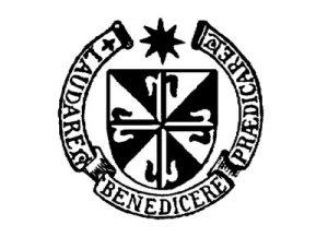 L'écusson dominicain (l'ordre religieux de Mgr Guérard)
